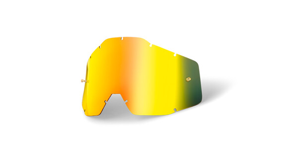 100% Replacement Lenses gold / mirror